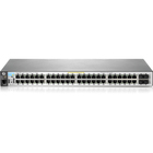 HPE 2530-48-PoE+ Ethernet Switch - 48 Ports - Manageable - 2 Layer Supported - Twisted Pair - PoE Ports - Rack-mountable, Wall Mountable, Desktop