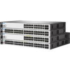 Aruba 2530-24-PoE+ Fast Ethernet Switch - 24 10/100 Network Ports, 2 Gigabit RJ45/SFP uplinks - Fully Managed - Layer 2 - 24 Ports - Manageable - 2 Layer Supported - Twisted Pair, Optical Fiber - Wall Mountable, Desktop, Rack-mountable - Lifetime Limited
