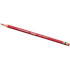 Prismacolor Col-Erase Colored Pencils - Scarlet Red Lead - Scarlet Red Barrel - 12 / Dozen