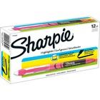Sharpie Accent Highlighter - Liquid Pen - Micro Marker Point - Chisel Marker Point Style - Fluorescent Pink Pigment-based Ink - 12 / Dozen