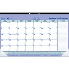 "Brownline Calendar Desk Pads - Monthly - 1 Year - January 2020 till December 2020 - 1 Month Single Page Layout - 17 3/4"" x 10 7/8"" Sheet Size - Desk Pad - Chipboard - Tear-off, Non-refillable, Bilingual - 1 Each"