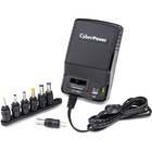CyberPower CPUAC1U1300 Universal Power Adapter 3-12V 1300mA and AC Power Plug - 3 V DC/2.10 A, 4.5 V DC, 5 V DC, 6 V DC, 7.5 V DC, 9 V DC, 12 V DC Output