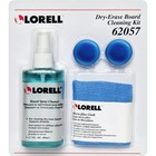 Lorell Dry-erase Board Cleaning Kit - 80 mL - Non-toxic - Blue - 4 / CD
