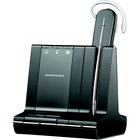 Plantronics Savi W745-M Headset - Mono - Wireless - DECT - 350 ft - Over-the-ear, Behind-the-neck, Over-the-head - Monaural - In-ear - Noise Cancelling Microphone