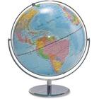 "Advantus 12"" Political World Globe - 13"" (330.20 mm) Width x 16"" (406.40 mm) Height - 12"" (304.80 mm) Diameter - Multi"