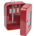 FireKing EK0506 Steel Emergency Key Safe - Key Lock - for Key - Red - Plastic, Steel