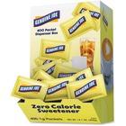 Genuine Joe Sucralose Zero Calorie Sweetener Packets - 1 g - Artificial Sweetener - 400/Box