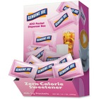 Genuine Joe Saccharine Zero Calorie Sweetener Packets - 1 g - Artificial Sweetener - 400/Box