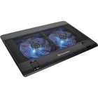 Thermaltake Massive 14² Notebook Cooler - 2 Fan(s) - 1200 rpm rpm - 1669.8 L/min - Mesh, Plastic - Black