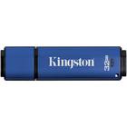 Kingston DataTraveler Vault Privacy 3.0 - 32 GB - USB 3.0 - 250 MB/s Read Speed - 40 MB/s Write Speed