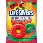 Wrigley LifeSavers 5 Flavors Hard Candies - Cherry, Raspberry, Watermelon, Orange, Pineapple - Individually Wrapped - 177.2 g