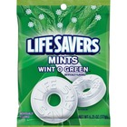 Wrigley Life Savers Mints Wint O Green Hard Candies - Wintergreen - Individually Wrapped - 177.2 g - 1 Bag