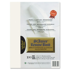 "St. James® Laser, Inkjet Print Copy & Multipurpose Paper - 0% - Letter - 8 1/2"" x 11"" - 24 lb Basis Weight - 100 / Pack - Ivory"