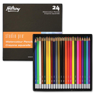 Hilroy Studio Pro Colored Pencil - 3 mm Lead Diameter - 24 / Pack