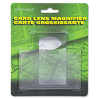 "Merangue Card Lens - Magnifying Area 2.13"" (53.98 mm) Width x 3.25"" (82.55 mm) Length"