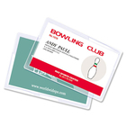 """Royal Sovereign Laminating Pouch - Sheet Size Supported: Business Card - Laminating Pouch/Sheet Size: 2.25"""" Width x 3.75"""" Length x 5 mil Thickness - Type G - Glossy - for Business Card, Recipe Card, Photo - 25 / Pack"""