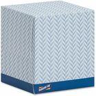 Genuine Joe Cube Box Facial Tissue - 2 Ply - White - Soft, Interfolded, Comfortable - For Face - 85 Quantity Per Box - 36 / Carton