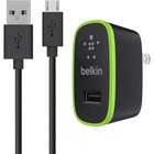 Belkin Universal Home Charger with Micro USB ChargeSync Cable (10 Watt/ 2.1 Amp) - 110 V AC, 220 V AC Input - 5 V DC/2.10 A Output