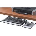 """Office Suitesâ""""¢ Keyboard Tray - 2"""" Height x 30.3"""" Width x 13.9"""" Depth - Black - Steel"""