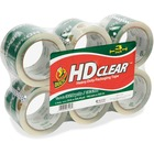"Shurtech HD Clear Packaging Tape - 54.6 yd (49.9 m) Length x 3"" (76.2 mm) Width - 2.60 mil (0.07 mm) Thickness - 3"" Core - Acrylic Backing - Adhesive - 6 / Pack - Crystal Clear"