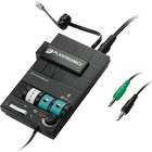 Plantronics MX10 Audio Processor - 1 x Phone Line (RJ-11) - Headphone - Desktop