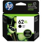 HP 62XL Original Ink Cartridge - Single Pack - Inkjet - High Yield - 600 Pages - Black - 1 Each