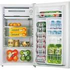 Lorell 3.3 cu.ft. Compact Refrigerator - 93.45 L - Manual Defrost - Reversible - 93.45 L Net Refrigerator Capacity - Black, Light Blue, White - Steel, Fiberglass, Plastic