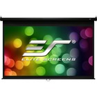 "Elite Screens Manual M120H 120"" Manual Projection Screen - Front Projection - 16:9 - MaxWhite - 58.8"" x 104.6"" - Wall/Ceiling Mount"