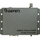 Gefen HDMI & VGA to 3GSDI Scaler/Converter - Functions: Video Scaling - 1920 x 1200 - VGA - USB - Audio Line In - 1 Pack - External