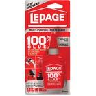 LePage 100% Glue - 50 mL - 1 Each - Clear