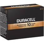 Duracell Coppertop Alkaline C Battery - For Multipurpose - C, LR14 - 1.5 V DC - Alkaline Manganese Dioxide - 12 / Box