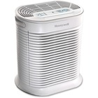 Honeywell True HEPA Small Console Air Cleaner - True HEPA, Activated Carbon - 14.4 m² - White