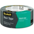 "Scotch Multi-use Duct Tape - 30 yd (27.4 m) Length x 1.88"" (47.8 mm) Width - 1 Roll - Gray"