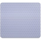 """3M Precise Nonskid Reposition Bitmap Mouse Pad - Gray Frostbyte - 8"""" (203.20 mm) Dimension - Foam"""