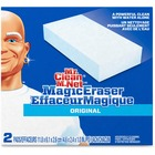"""Mr. Clean Magic Eraser Pads - Pad - 2.40"""" (60.96 mm) Width x 4.60"""" (116.84 mm) Length - 2 / Pack - White"""