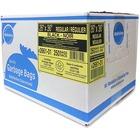 "Ralston Black Regular-Strength Industrial Bags - 26"" (660.40 mm) Width x 36"" (914.40 mm) Length x 0.65 mil (17 Micron) Thickness - Black - Resin - 250/Carton - Industrial, Garbage"