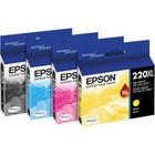 Epson DURABrite Ultra 220XL Ink Cartridge - Yellow - Inkjet - High Yield - 450 Pages - 1 Pack