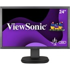 "Viewsonic VG2439Smh 24"" Full HD LED LCD Monitor - 16:9 - Black - 1920 x 1080 - 16.7 Million Colors - 250 cd/m² - 6.50 ms - 75 Hz Refresh Rate - HDMI - VGA - DisplayPort"