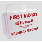 "Paramedic First Aid Kits & Supplies - 150 x Piece(s) - 6"" (152.40 mm) Height x 8.75"" (222.25 mm) Width x 3"" (76.20 mm) Depth - Plastic Case"