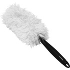 "Genuine Joe Microfiber Handheld Duster - 10"" (254 mm) Handle Length - 1 Each"