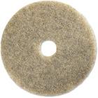 """Genuine Joe 20"""" Multipurpose Floor Pad - 20"""" Diameter - 5/Carton x 20"""" (508 mm) Diameter x 1"""" (25.40 mm) Thickness - Rubber, Synthetic Fiber - Natural"""