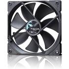Fractal Design Dynamic GP-14 140 mm Cooling Fan Black - 1 x 140 mm - 1 x 68.4 CFM - 18.9 dB(A) Noise - Hydraulic Bearing - 3-pin