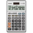 """Casio JF-100MS Solar Plus Display Calculator - Large Display, Independent Memory, Sign Change, Key Rollover, Decimal Point Selector Switch, Dual Power - Battery/Solar Powered - 6.8"""" x 4.2"""" x 1.1"""" - Plastic - 1 Each"""
