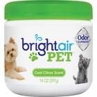 Bright Air Pet Odor Eliminator Air Freshener - Gel - 396.9 g - Cool Fresh - 60 Day - 1 Each