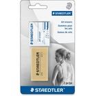 Staedtler karat 5427 Art Eraser - Artwork Eraser - Smudge-free - 2/Set
