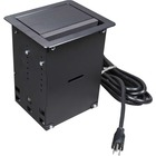 C2G Wiremold InteGreat A/V Table Box Black - Black