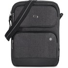"""Solo Urban Carrying Case (Sling) for 11"""" Tablet - Gray - Polyester Body - Shoulder Strap - 13.38"""" (339.85 mm) Height x 9.75"""" (247.65 mm) Width x 1.75"""" (44.45 mm) Depth"""