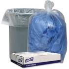 """Genuine Joe Clear Low-density Liners - 38"""" (965.20 mm) Width x 58"""" (1473.20 mm) Length - 1.75 mil (44 Micron) Thickness - Low Density - 100/Carton - Clear"""