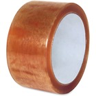 """Sparco Natural Rubber Carton Sealing Tape - 110 yd (100.6 m) Length x 2"""" (50.8 mm) Width - 2.30 mil (0.06 mm) Thickness - Natural Rubber - 36 / Carton - Clear"""