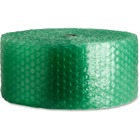 """Sparco 125' Recycled Bubble Cushioning - 12"""" (304.80 mm) Width x 125 ft (38100 mm) Length - 0.5"""" Bubble Size - Eco-friendly, Flexible, Lightweight - Green"""